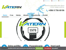 Tablet Preview of katern-transport.si